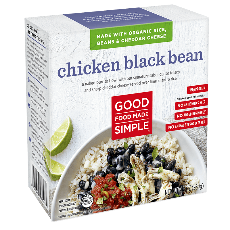 Chicken Black Bean Entre Meals Good Food Made Simple
