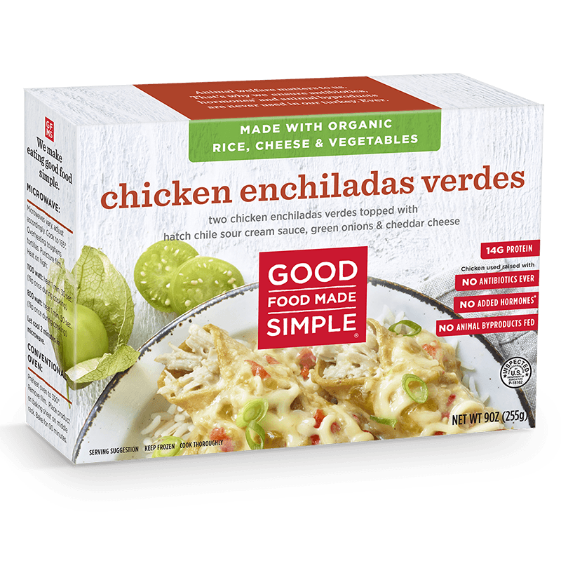 Chicken Enchiladas Verdes Entre Meals Good Food Made Simple