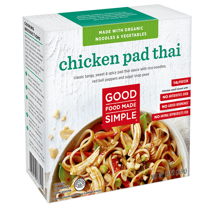 Chicken pad thai entre meals good food made simple entree meals chicken pad thai forumfinder Images