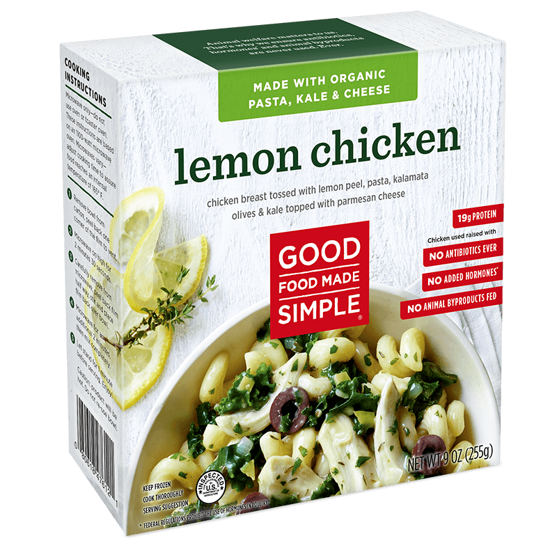 Lemon Chicken Entre Meals Good Food Made Simple