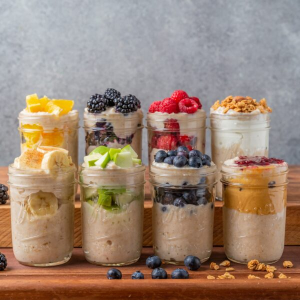 How To Meal Prep Oatmeal 8 Ways