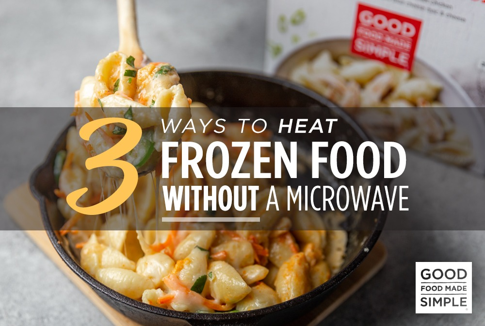 Heat Frozen Food Without A Microwave
