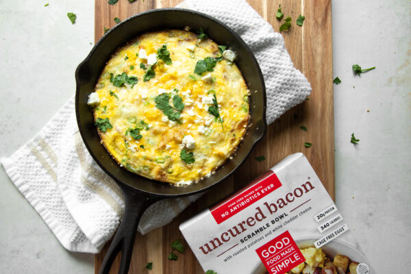 Bacon Scramble Frittata