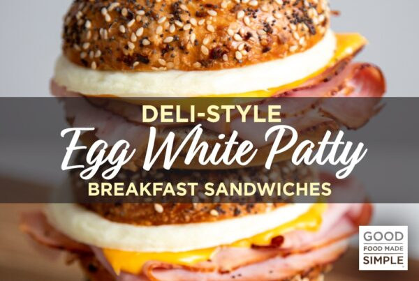 Deli-Style Egg White Patty Breakfast Sandwiches