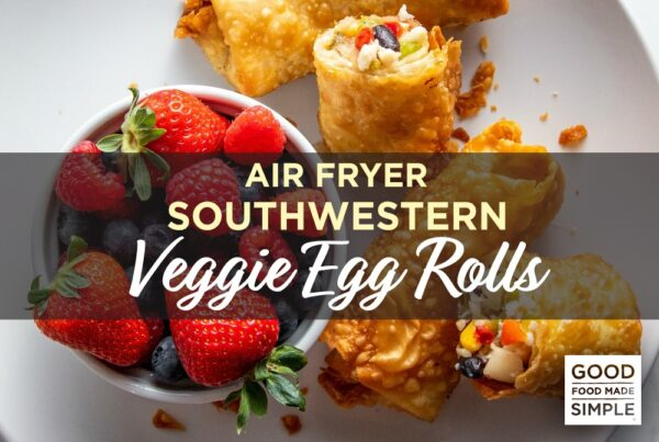 Air Fryer Veggie Egg Rolls