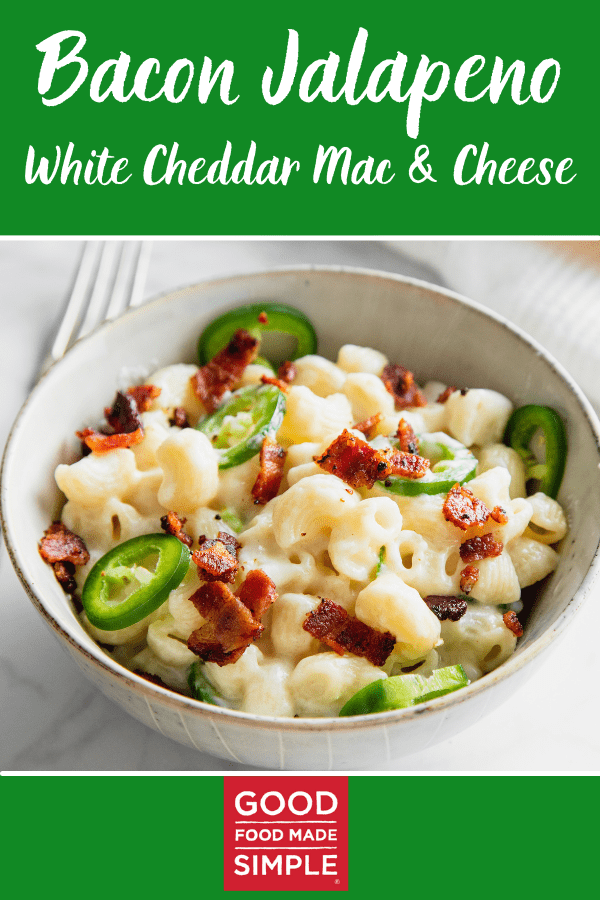 Bacon Jalapeno White Cheddar Mac & Cheese